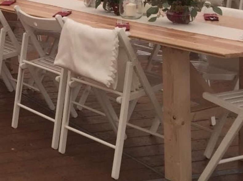 8007 Klappstuhl für Hochzeit