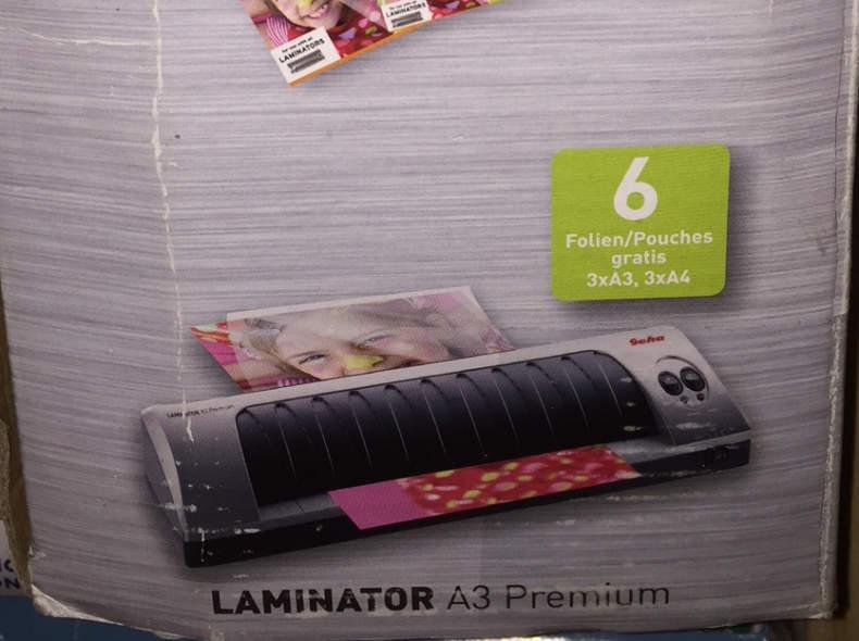 8034 Geha Laminator A3