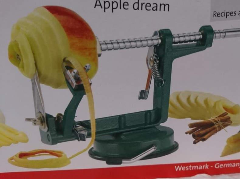 8047 Apfel Schäl-und Schneidapparat