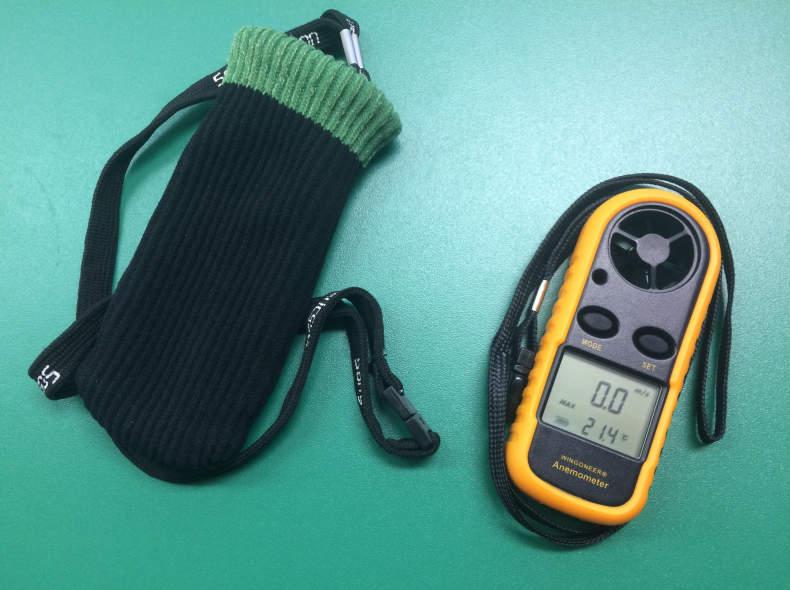 8061 Windmesser Thermometer Anemometer