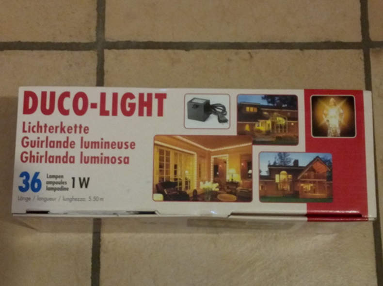 8143 Lichterkette 5.5m 36 Lampen