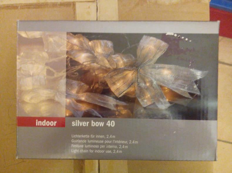 8145 Lichterkette indoor 2.4m Schleifen