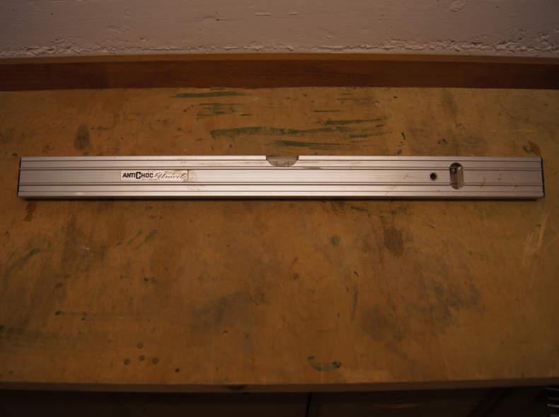 8181 Wasserwaage 59,5cm, 2 Augen