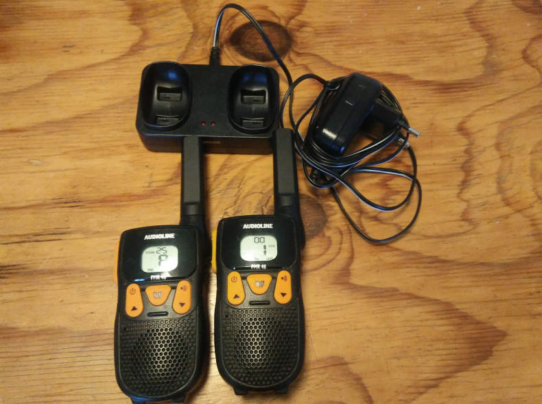8209 PMR Funkgeräte Set Audioline