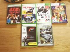 8264 XBox 360 inkl. Kinect und 6 Spiele