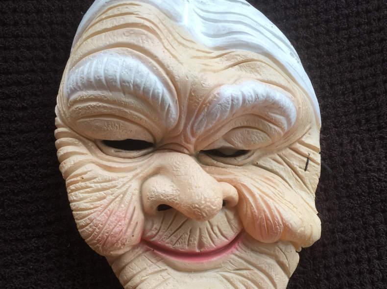 8732 Grossmutter Maske/Larve