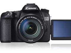 8838 Canon 70D inkl. 18 -135mm und 50mm