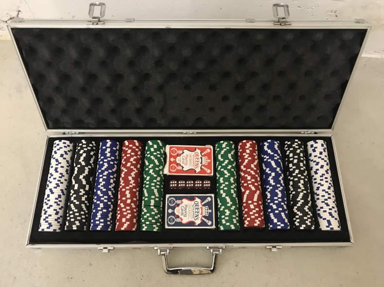 8898 Poker Set / Poker Koffer