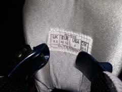 8958 Damen Rollerblades mit Schutz