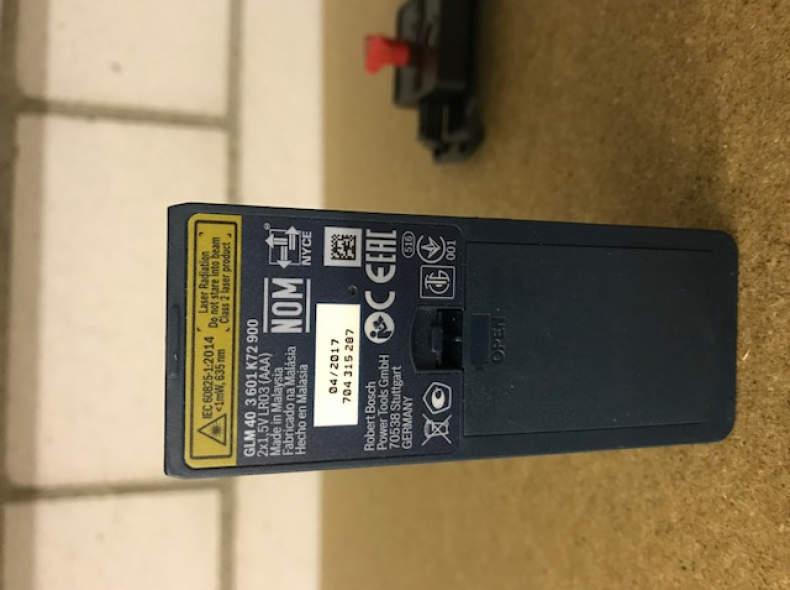 8972 Laserdistanzmesser GLM 40