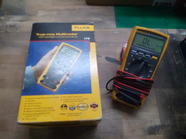 9013 Multimeter Fluke 179 True-RMS
