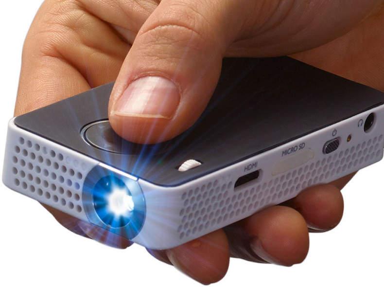 9021 Beamer Philips Pocketbeamer HDMI