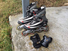 9082 Inline-Skates K2, Grösse 42.5