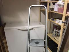 9092 Leiter aus Metall
