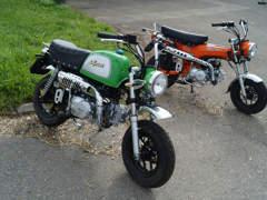 9325 Skyteam Monkey Gorilla Dax 125 Bike