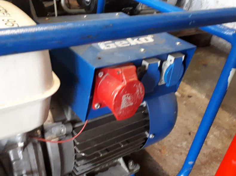 9405 Generator Geko 6800  400V  5.9kvA