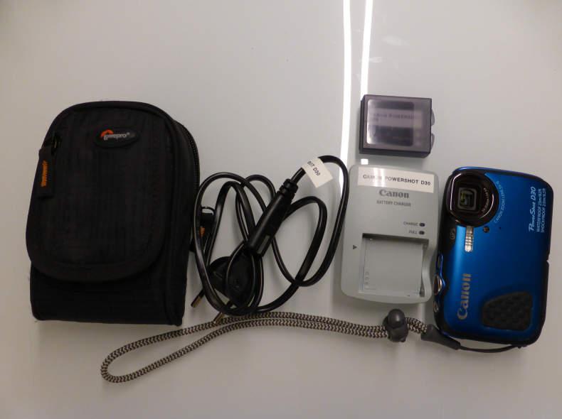 9447 Unterwasserkamera Canon PowerShot D
