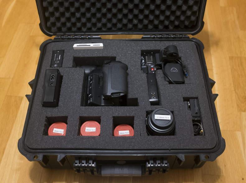 9640 Canon C100 MII, Lens, Recorder Kit