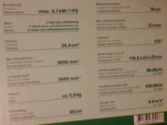 9647 Heckenschere Benzin