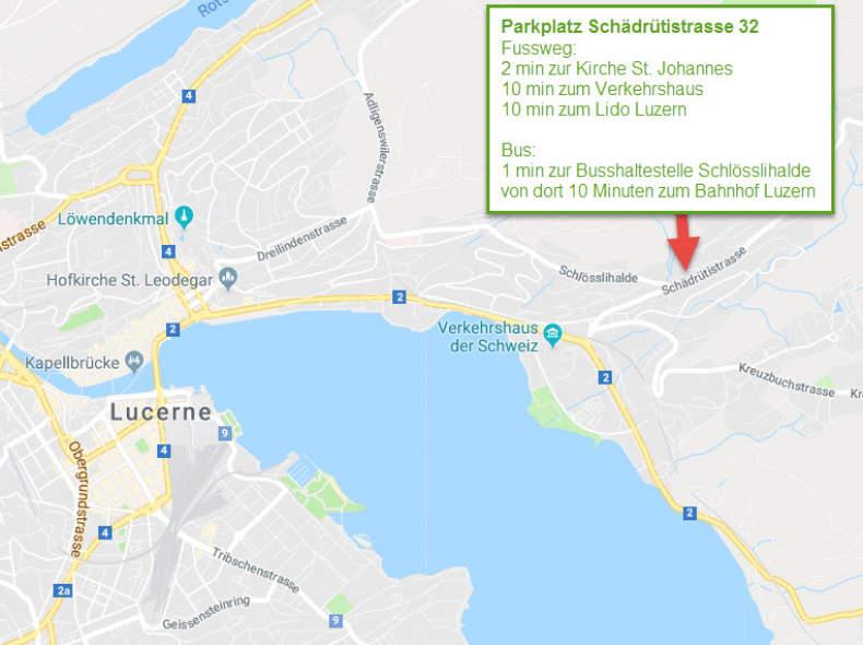 9658 Parkplatz Schädrütistrasse Luzern