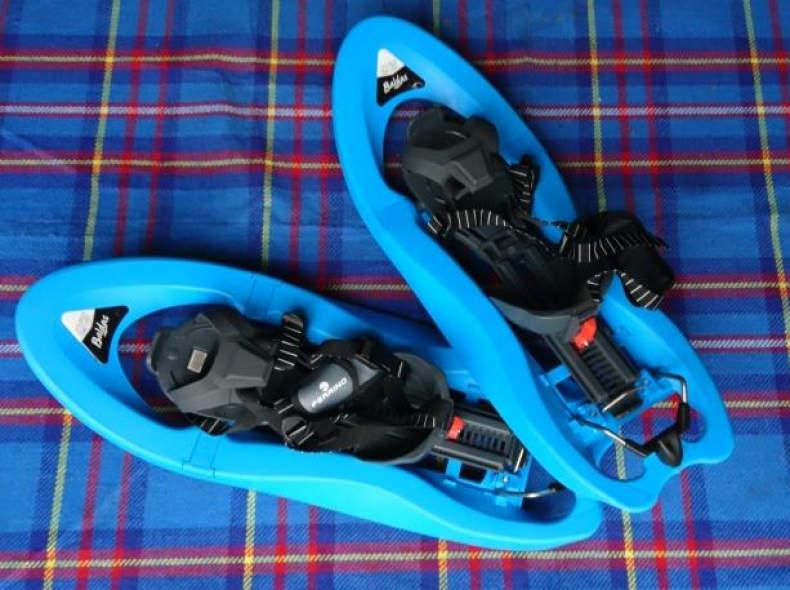 9838 Schneeschuhe blau (2 von 2 Paar)