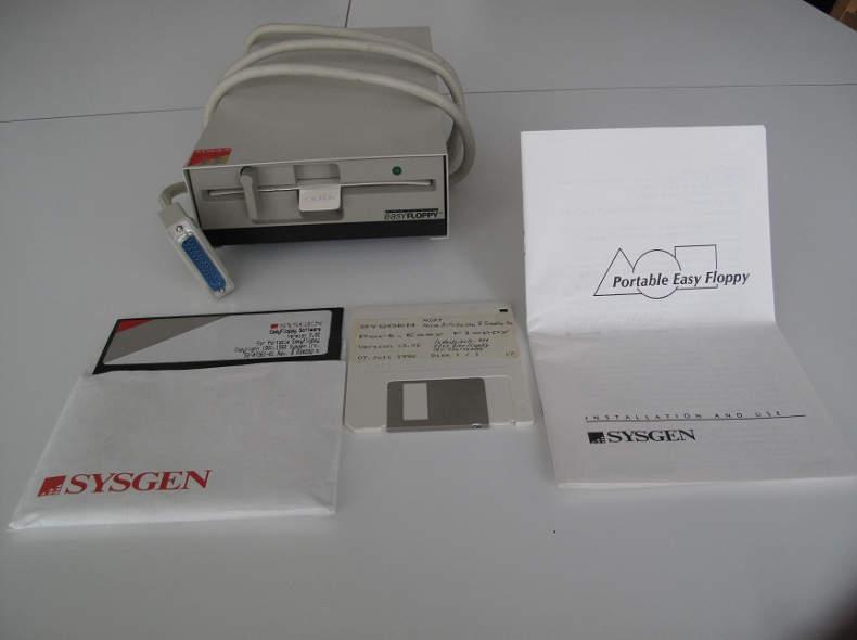 """9876 Portables Laufwerk für 5,25""""-Floppy"""