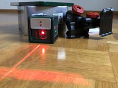 10012 BOSCH Laser Wasserwaage Quigo