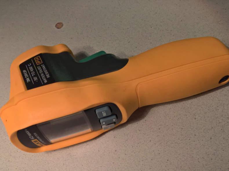 10212 Fluke 62 MAX+ Infrarot-Thermometer
