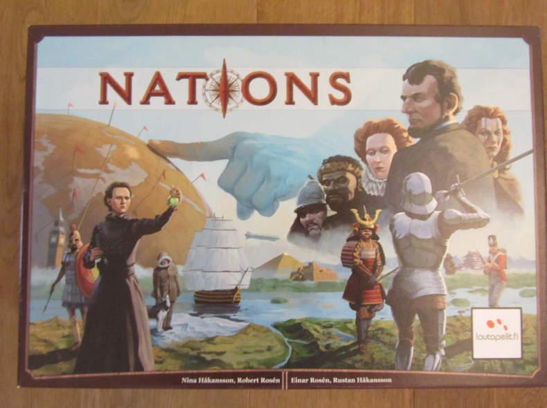 10277 Nations Brettspiel