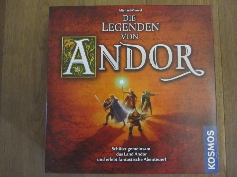 10279 Legenden von Andor Brettspiel