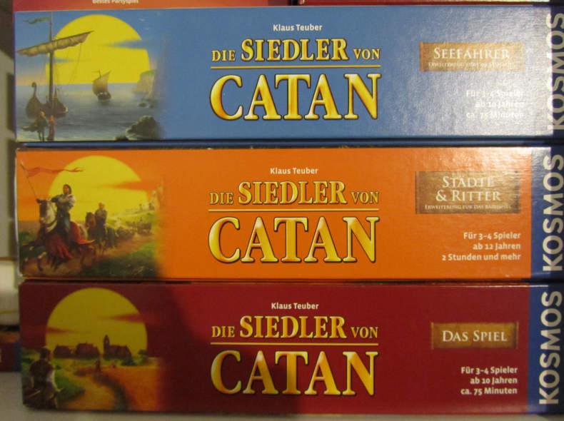 10284 Die Siedler von Catan Brettspiel