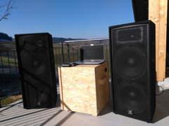 9982 JBL PA Musikanlage