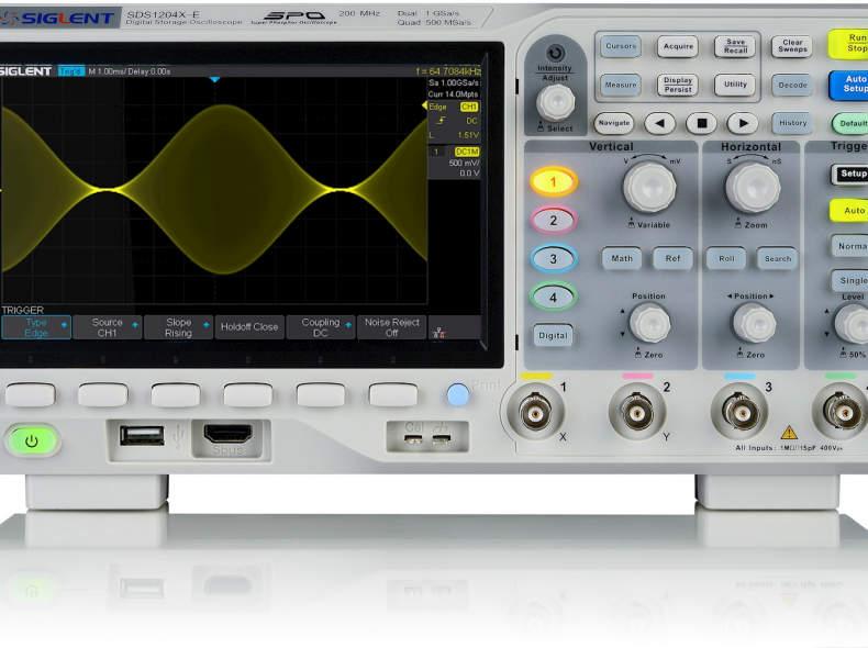 10336 Oszilloskop Siglent SDS2004E-X