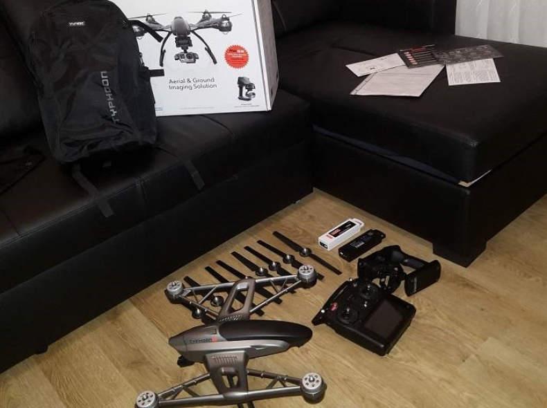 10490 Drone Yuneec q500 + Gopro 4K