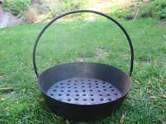 10557 Marroni-Pfanne für den Grill