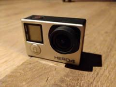 10593 GoPro Hero 4 Silver  | viel Zubehör
