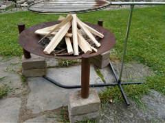 10645 Feuerschale mit Grill