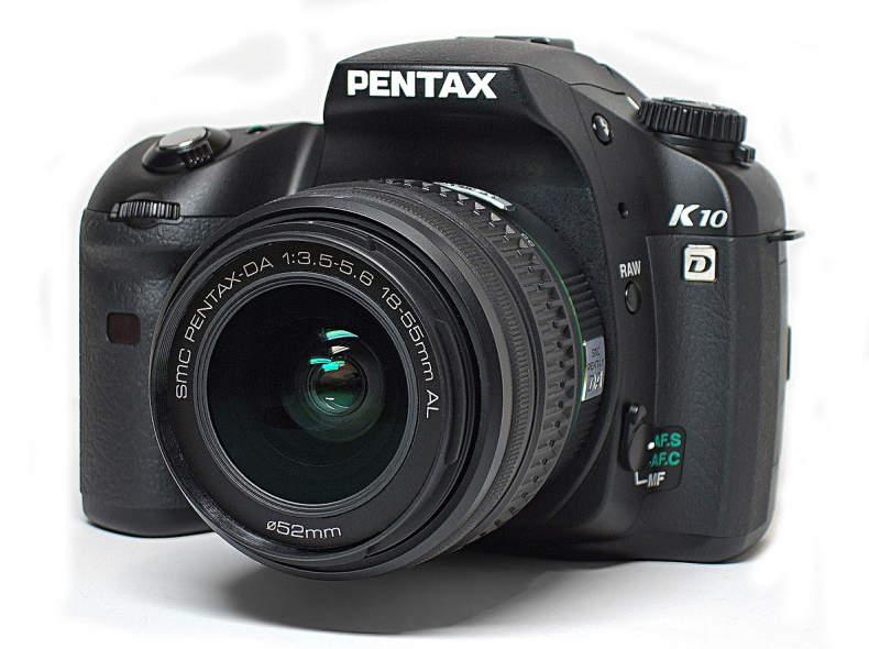 10782 Profi Fotoausrüstung Pentax K10D