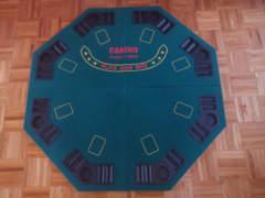 10849 Pokertisch klappbar (ohne Beine)