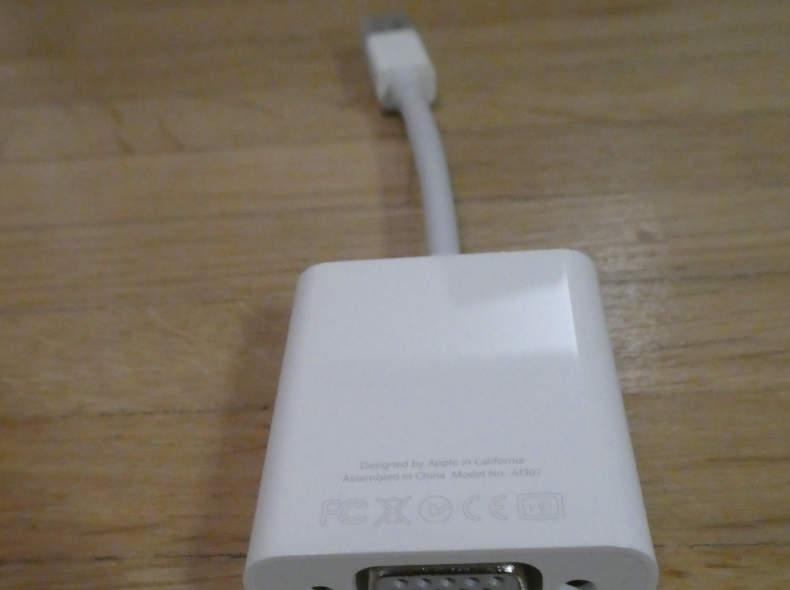 10918 Apple MiniDisplayPort auf VGA Adapt