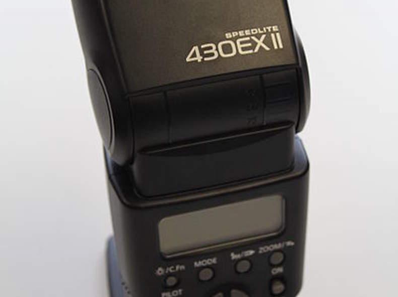 1130 Blitzgerät: Canon Speedlite 430EXII