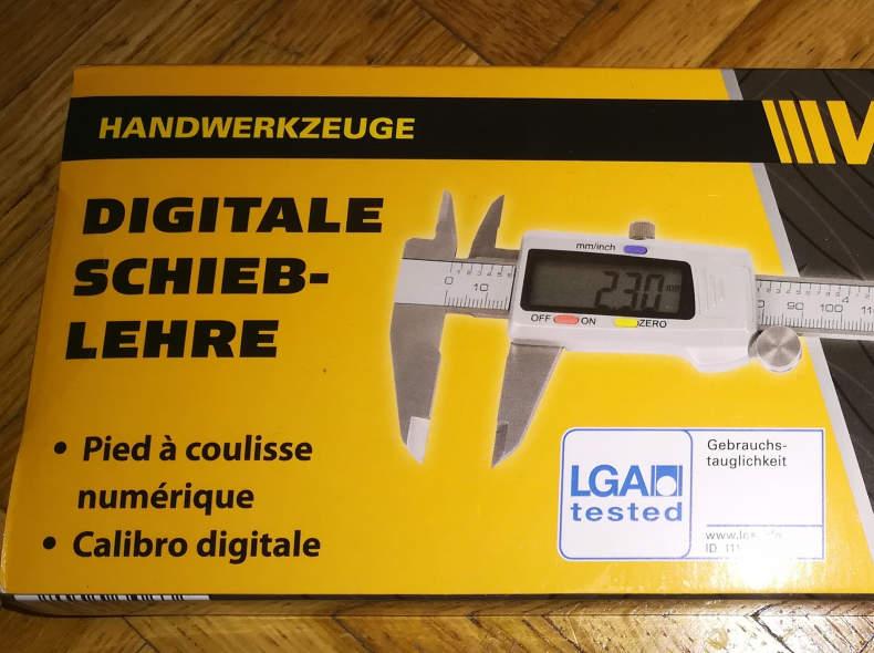 11134 Digitale Schieblehre / Messschieber