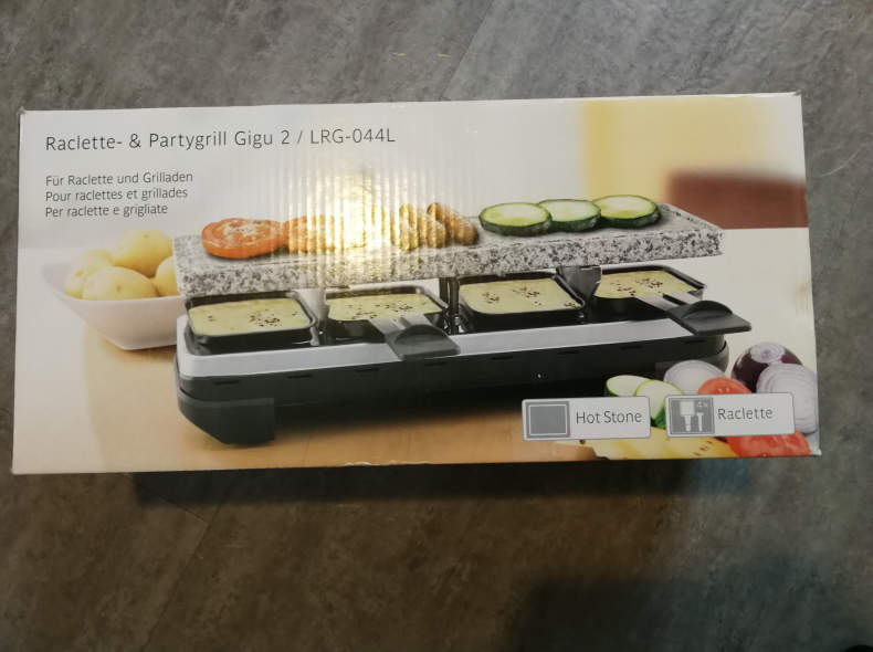 11152 Raclette-und Partygrill