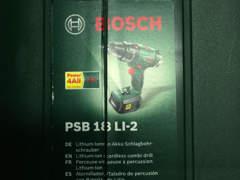11172 Bosch PSB18LI2 Akku-Bohrschrauber