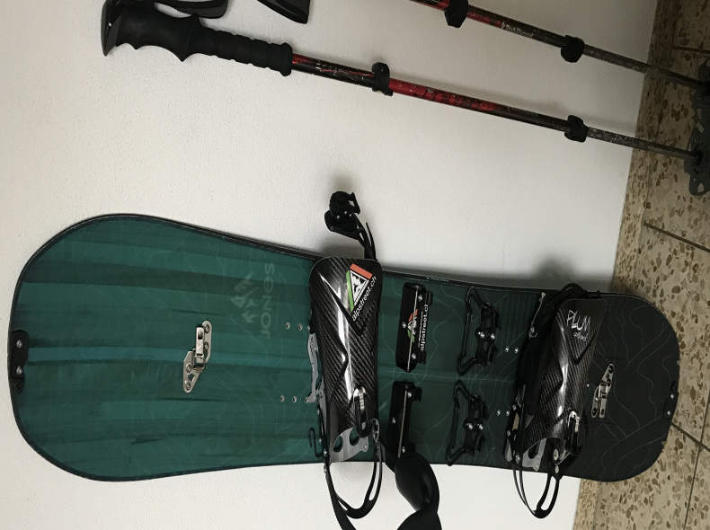 11187 Splitboard komplett, 148 cm