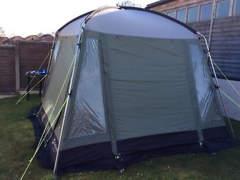 11214 Pavillon fürs Camping, Wohnwagen