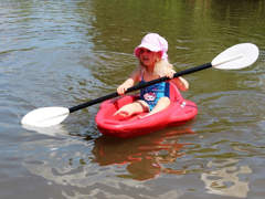 11215 Kajak für Kinder , Kinderboot