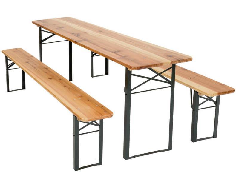 11274 Bierbank Set (Tisch & 2 Bänke)