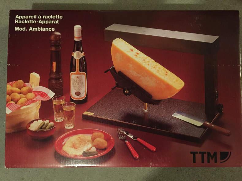 """11312 Raclette-Apparat zum """"abstreichen"""""""