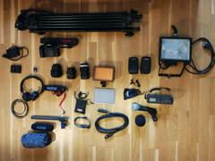 11427 Filmset: Audio, Kamera, Licht